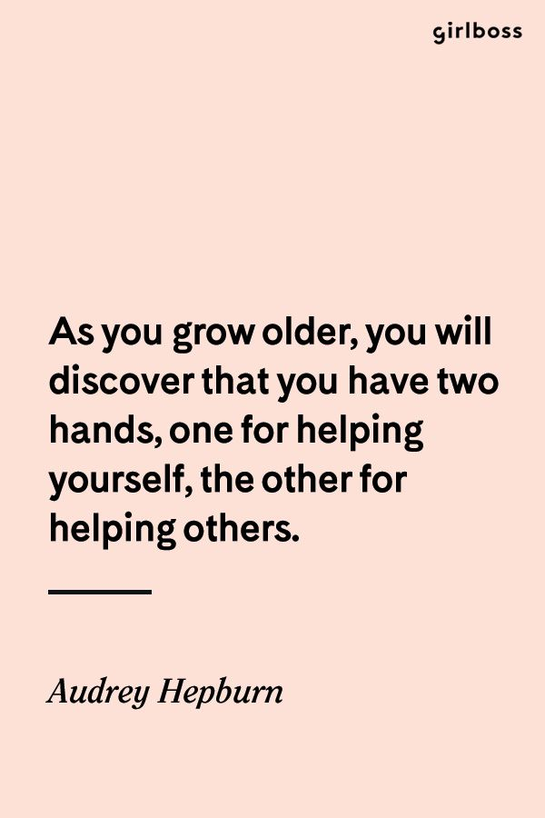 Girlboss Quote As You Grow Older You Will Discover That You Have