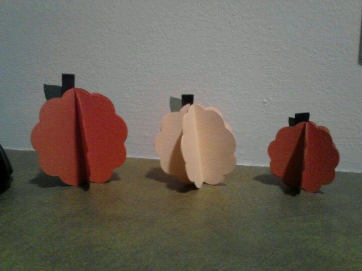 3D pumpkins