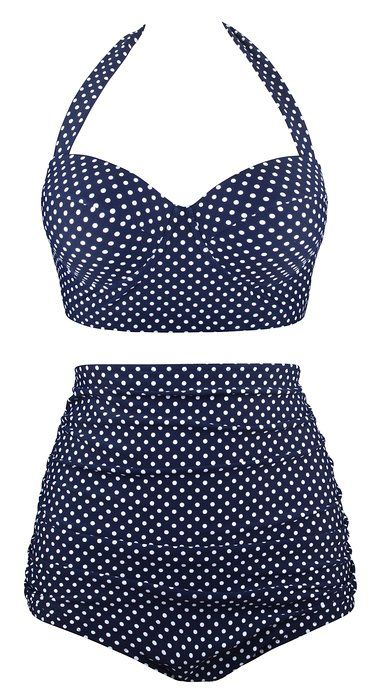 superior performance quality and quantity assured the latest Angerella Women Vintage Polka Dot High Waisted Bathing Suits ...