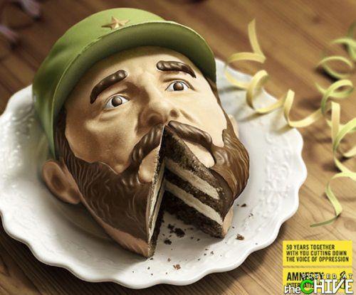 fidel castro cake