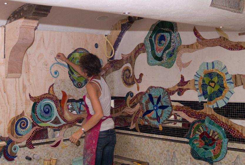 Abraxas Mosaic Mural Mosaic Art Mosaic