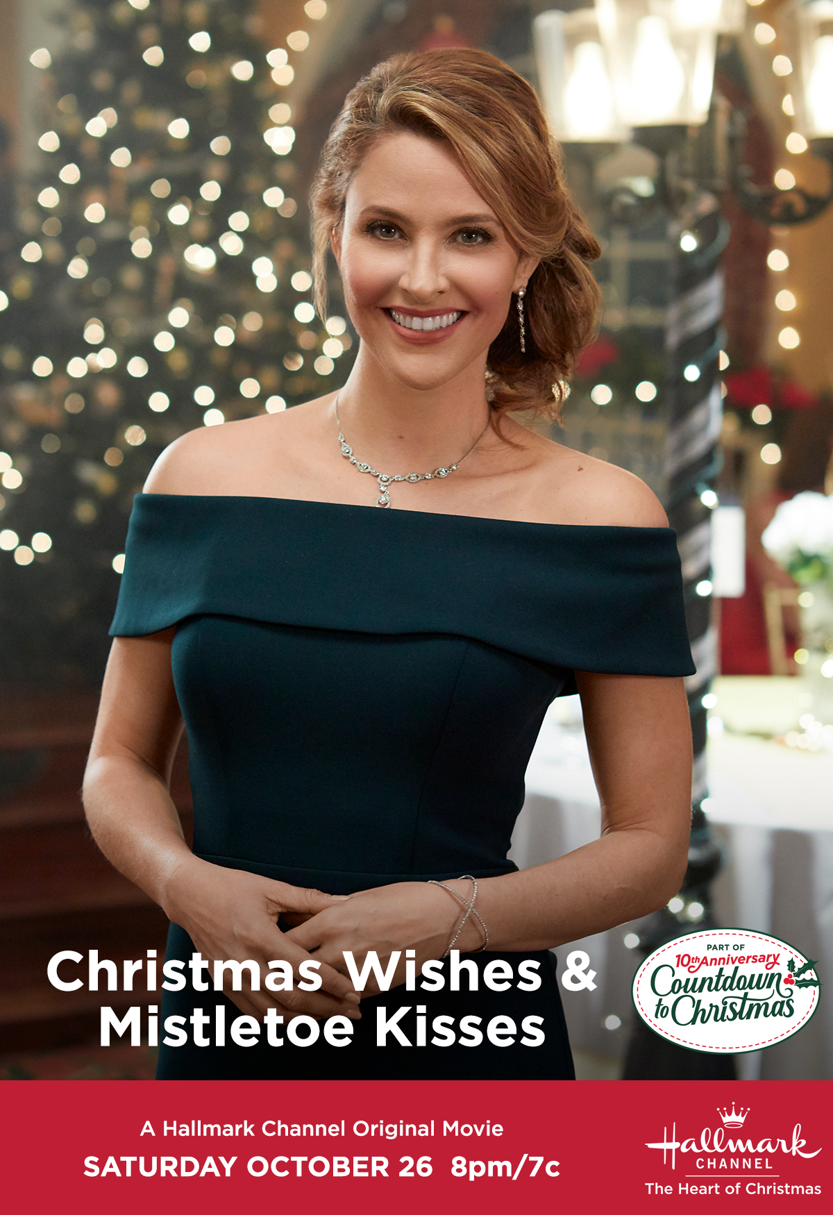 Jill Wagner stars in the first Countdown to Christmas