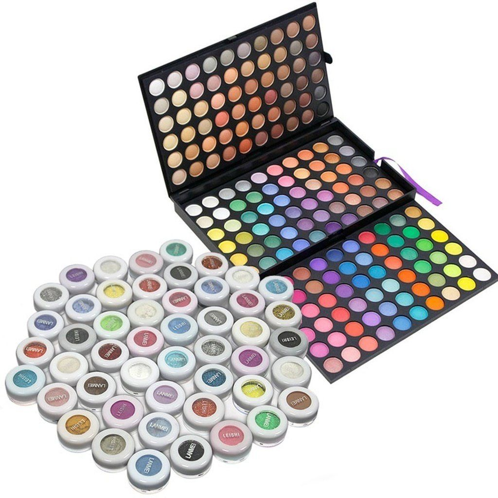 180 Color EyeShadow Warm Rainbow palette 2 with 50 units