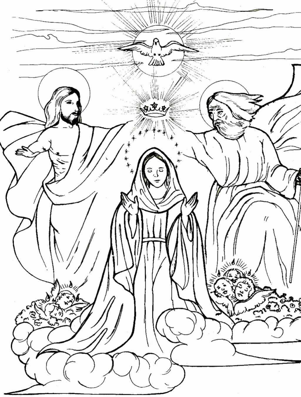 Inmaculada Concepcion De Maria Lamina 2 Virgen De La Asuncion