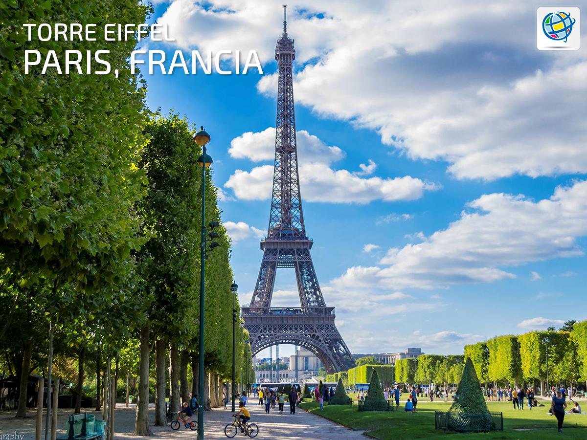Conocer la torre Eiffel en #París 🗼