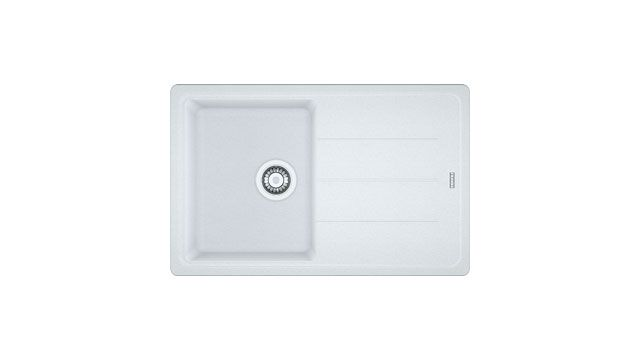 Franke Kitchen Sinks Basis BFG 611-78 Fragranite Polar White ...