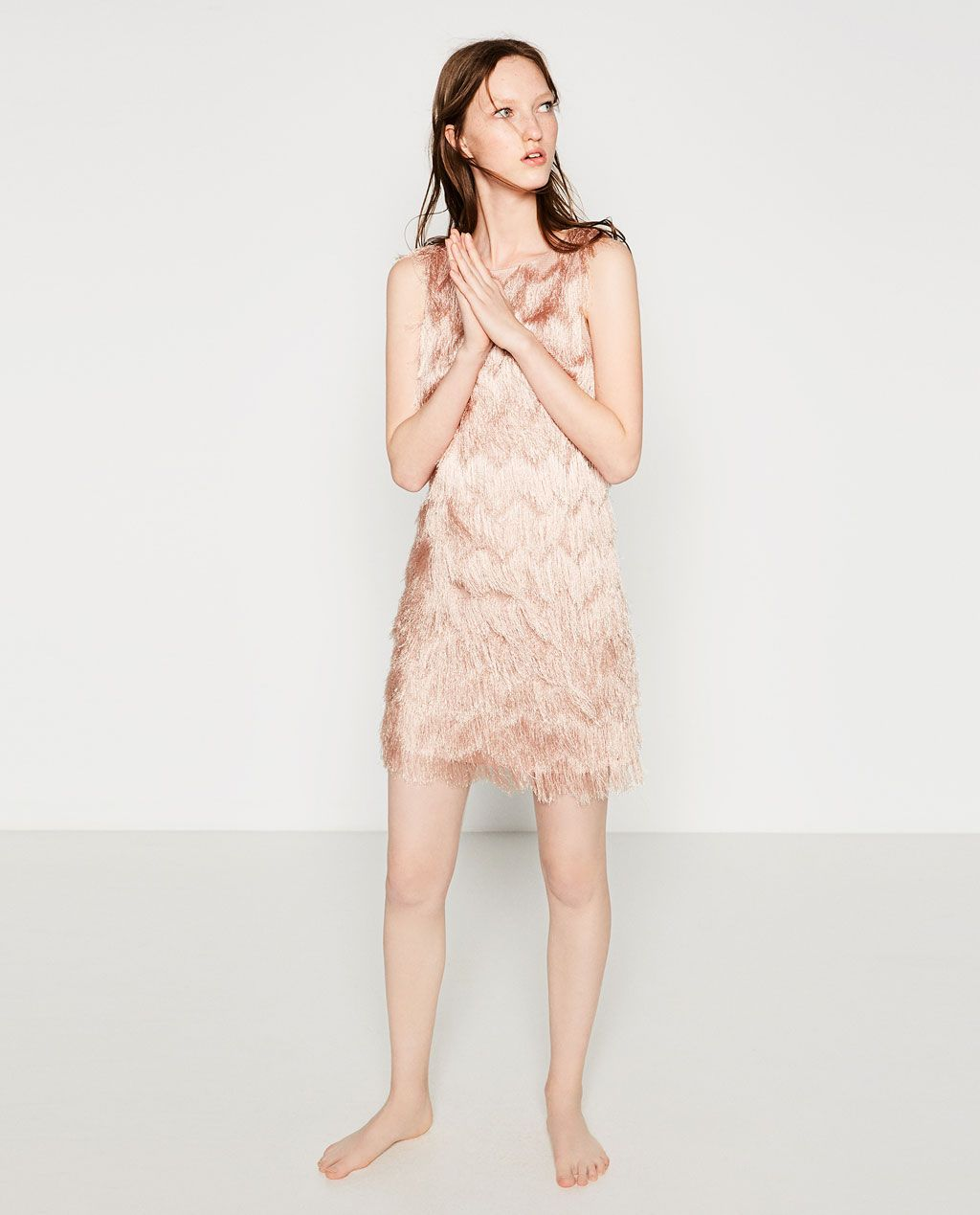 62f04959c FRINGED DRESS-View All-DRESSES-WOMAN-SALE | ZARA United States ...