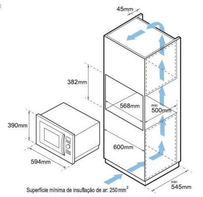 Projeto de armario para forno e microondas torre for Dimensiones horno empotrado