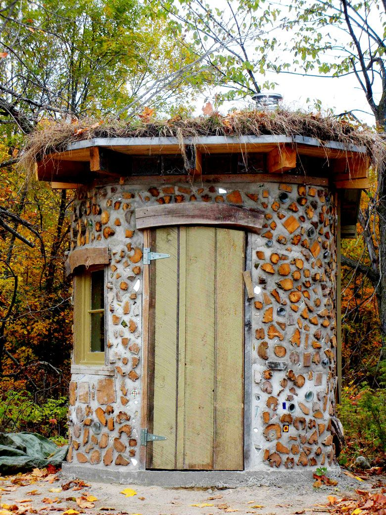 Cordwood Construction (also Known As Cordwood Masonry Or Stackwell Building