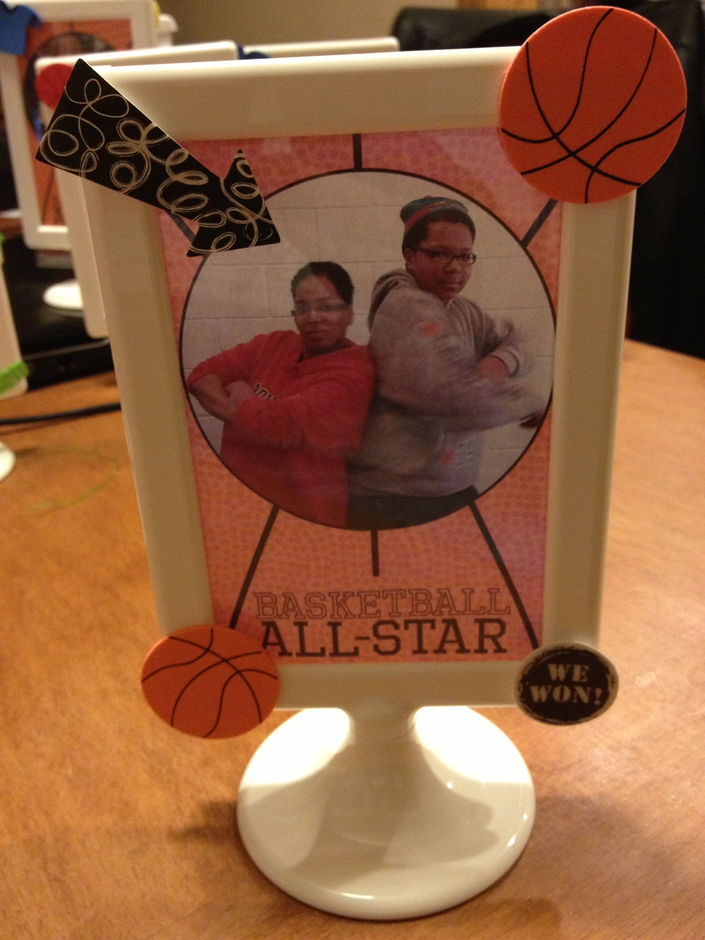 Picture Frame Craft Using Ikea Frames Used These On The Tables At The Basketball Banquet Photo Frame Crafts Picture Frame Crafts Crafts