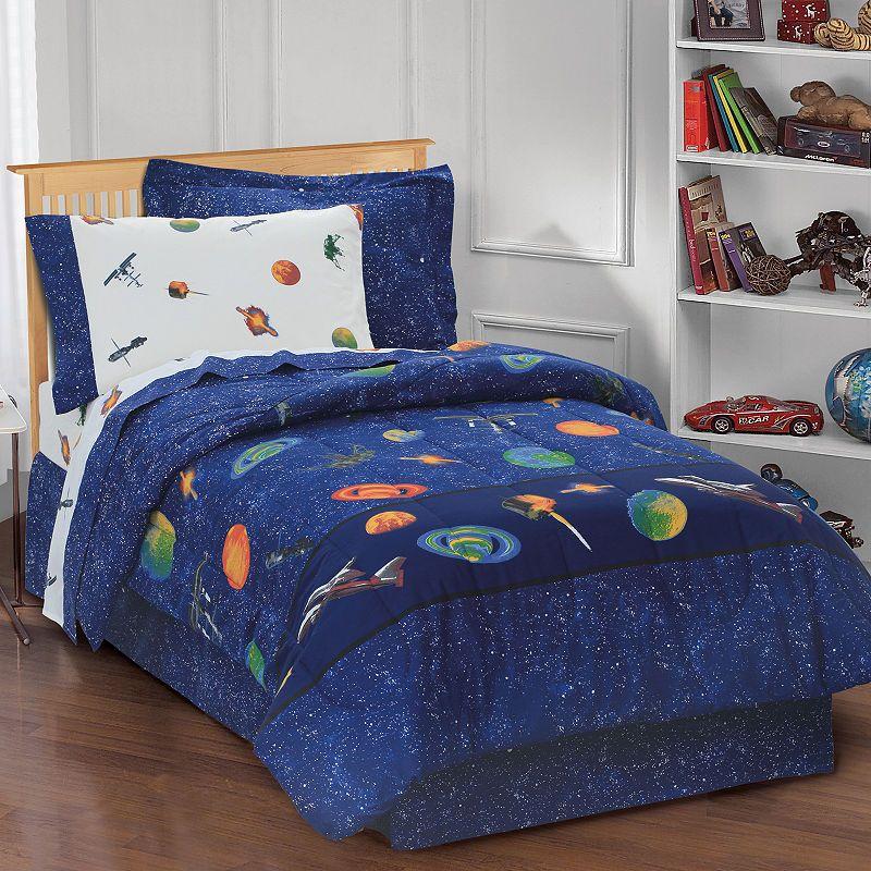 Dream Factory Outer Space Comforter Set Boys Comforter Sets
