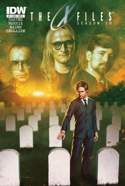 "The truth is in the second issue of IDW's ""X-Files,"" even if The Lone Gunmen have to shoot it out."