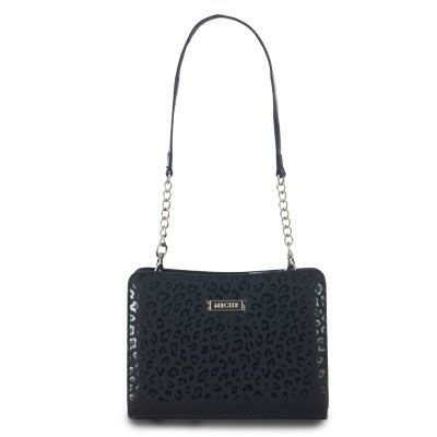 Celebrating the classic timelessness of the little black handbag! Perfect for that special night out, the Mikah Wrap-Around Shell for Mini Bags goes with just about anything. Abstract glossy-black leopard print detailing on matte background is subtle, yet über chic! Meow… Base not incl. Buy Directly at http://www.kqzyfj.com/click-5441974-10523777