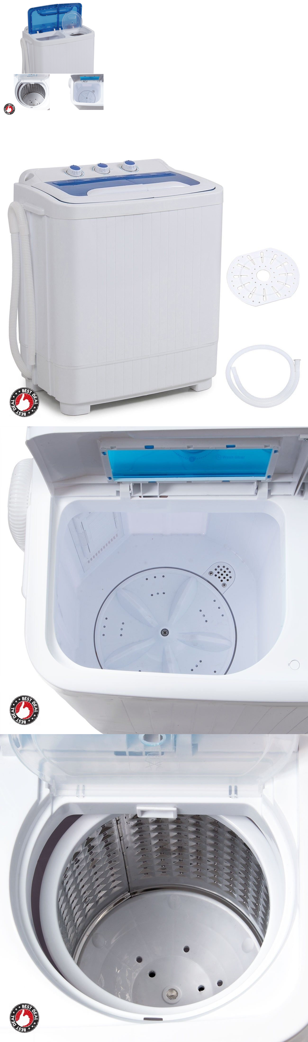 Washing Machines 71256: Washer And Dryer Combo Apartment Washing Machine  Small Portable Rv Compact Top