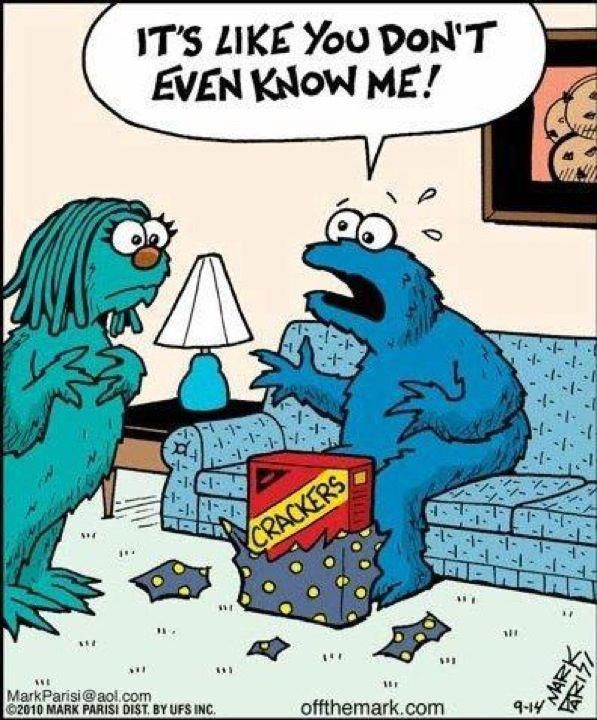 Cookie Monster Problems