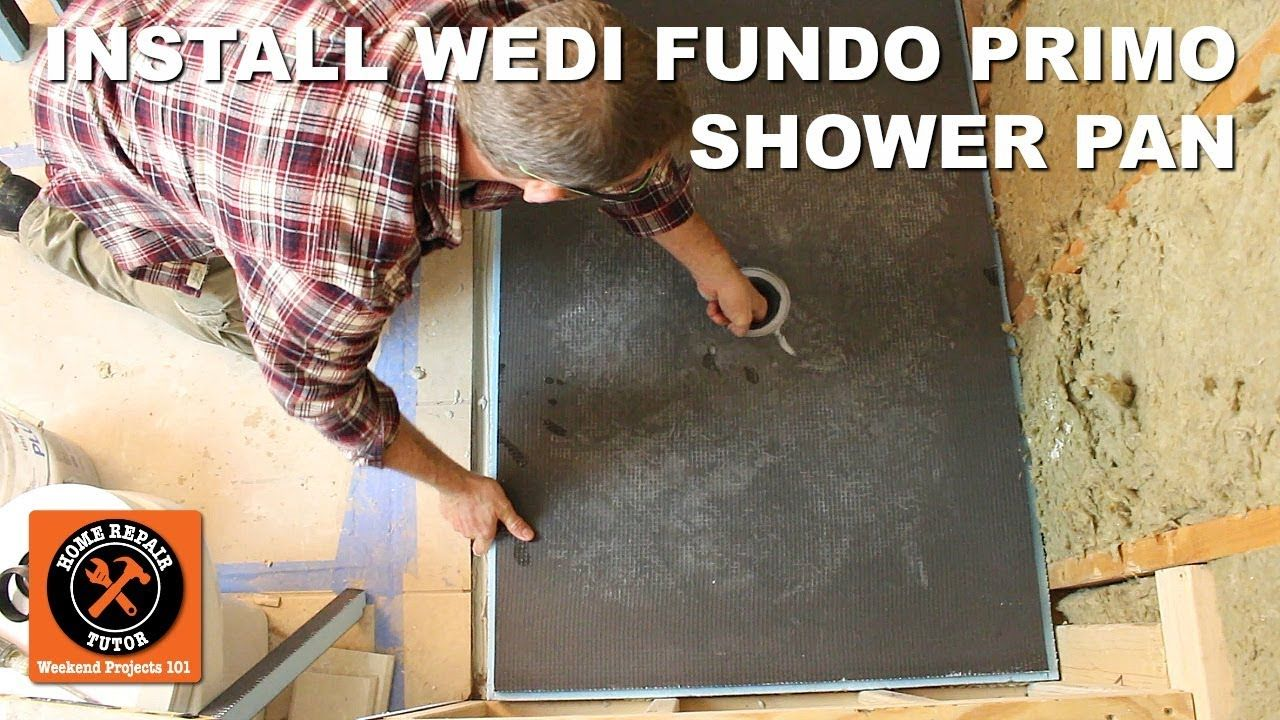 Install A Shower Pan Part 3 Setting Curbed Wedi Fundo Primo Step