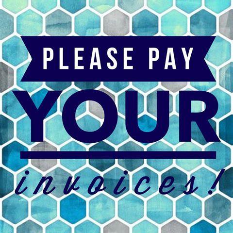 Lularoe please pay your invoices! lularoe Pinterest - sending invoices