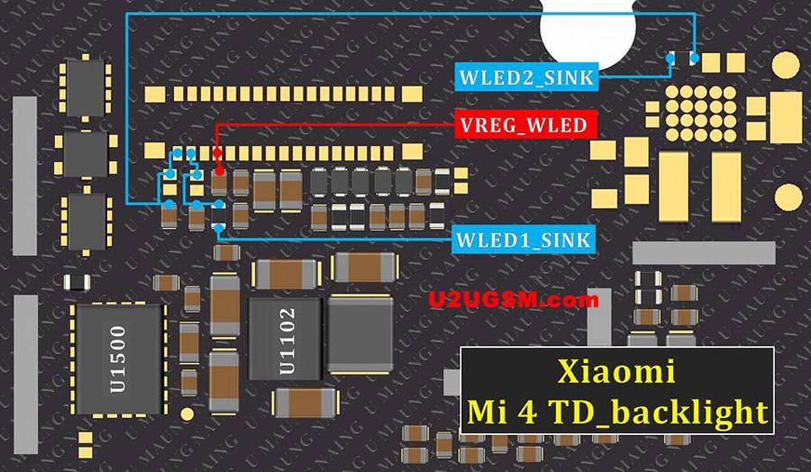 Xiaomi Mi 4 TD Display Light Solution | Jumper | Display