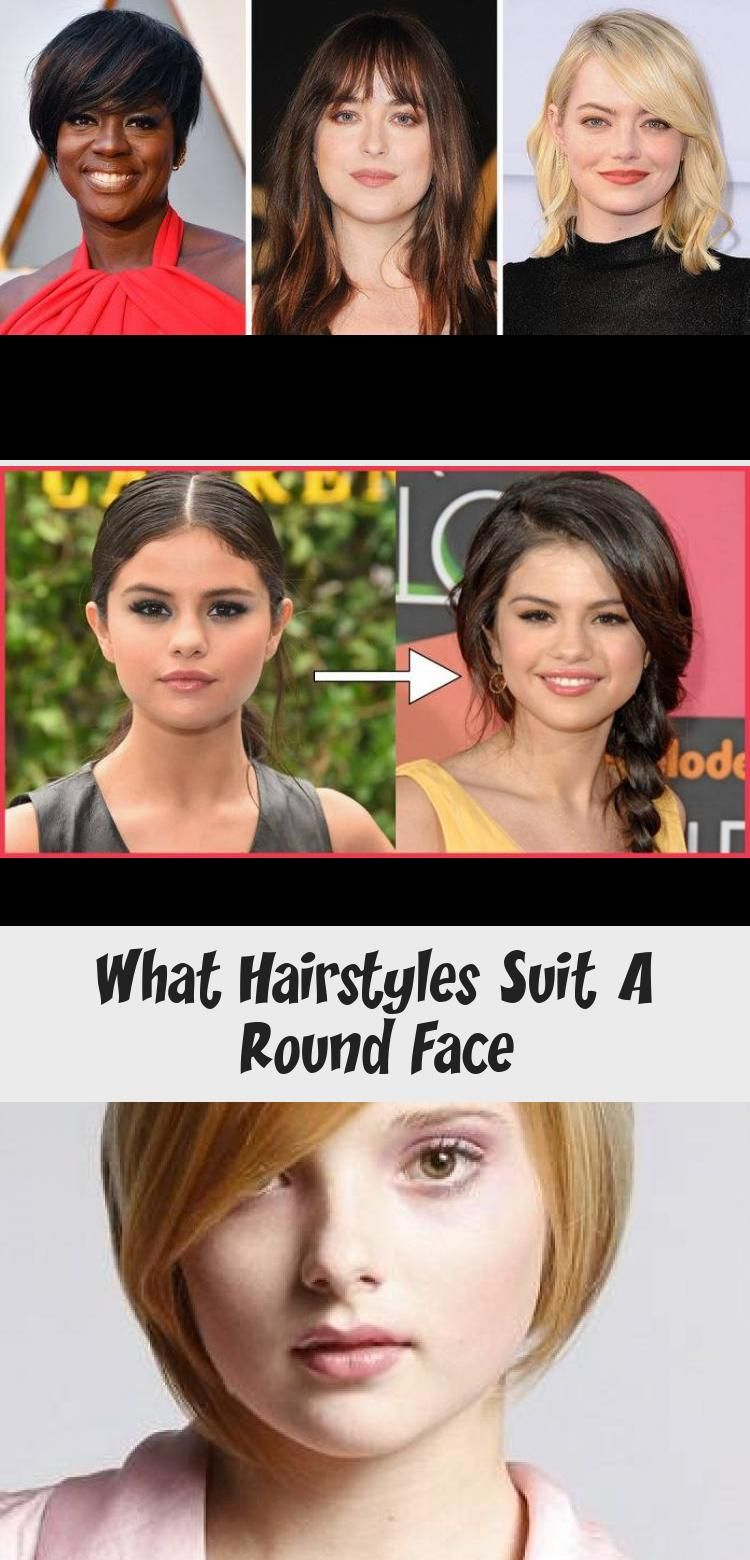 What Hairstyles Suit A Round Face in 2020 | Hairstyles for round faces, Hair styles, Hairstyles ...