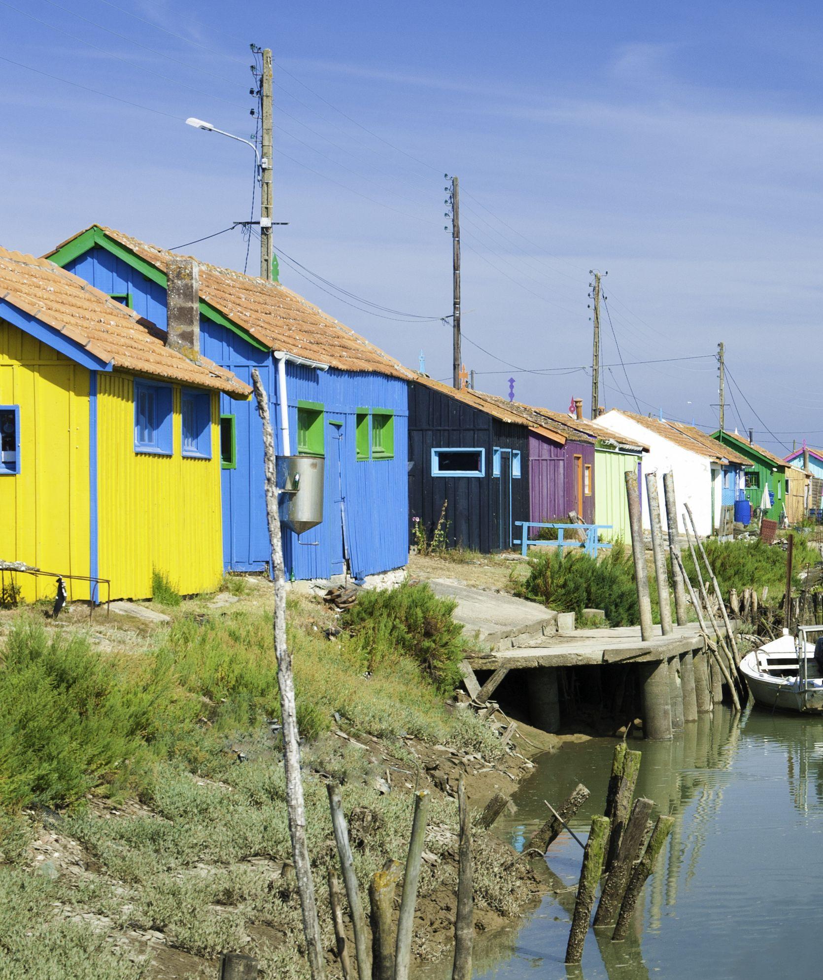 L Ile D Oleron Est Belle De Ses Paysages Et De Ses Maisons