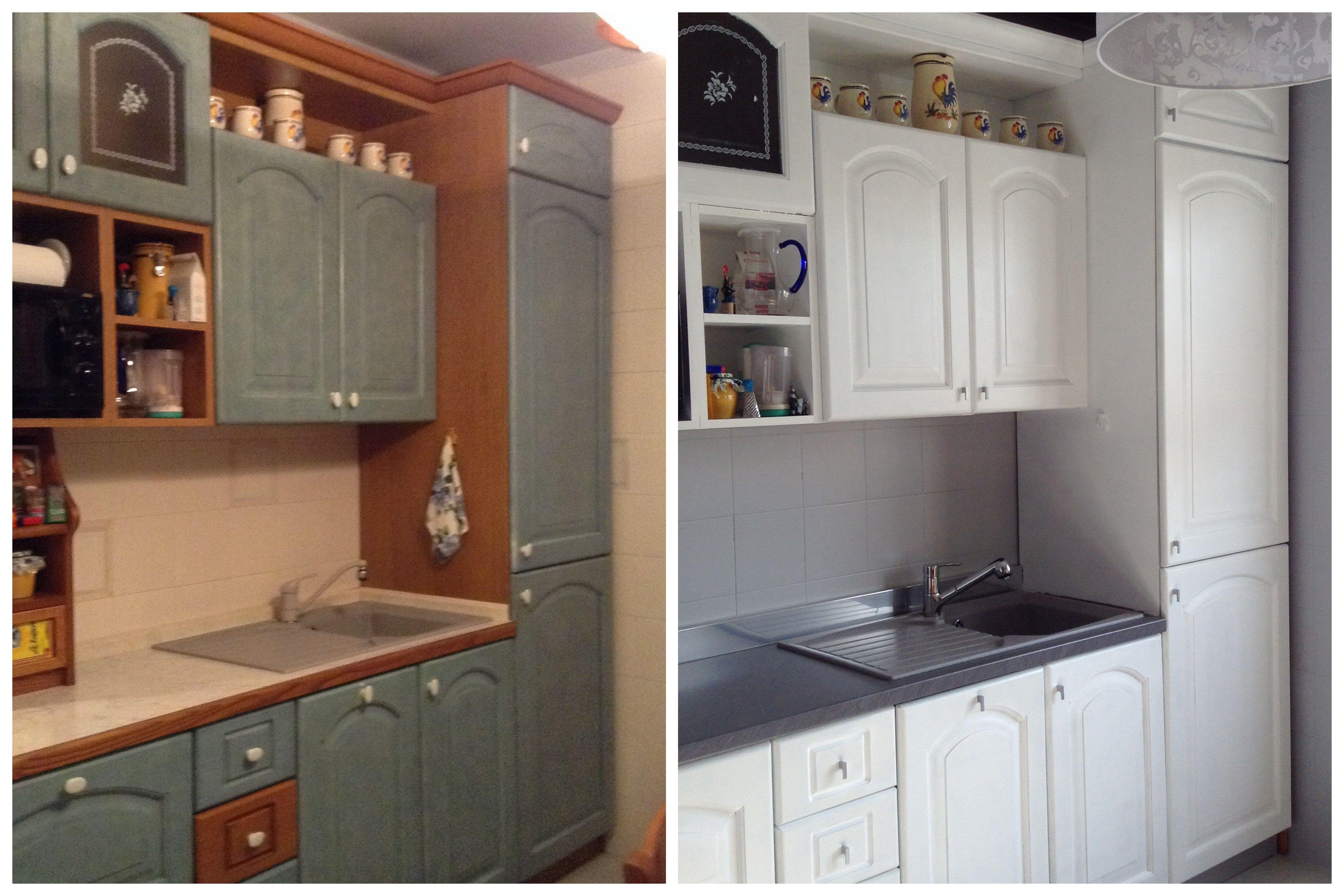 Una vecchia cucina può ritrovare il suo splendore grazie a ...