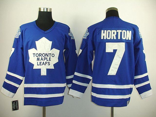 3ee6bb157 Toronto Maple Leafs 7 Tim HORTON Home Jersey