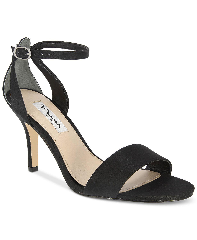 8a0fc25d55d Nina Venetia Ankle-Strap Evening Sandals