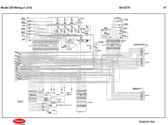 peterbilt model 348 359 362 wiring diagram  electrical
