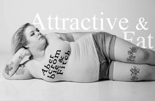 Abercrombie & Fitch ads re-imagined as Attractive & Fat