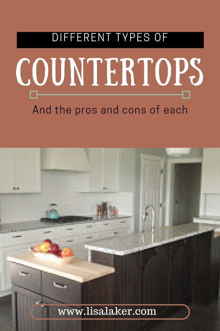 This Is A Great Comparison Between All The Different Countertop