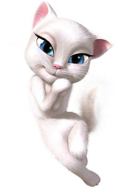анжела кошка фото