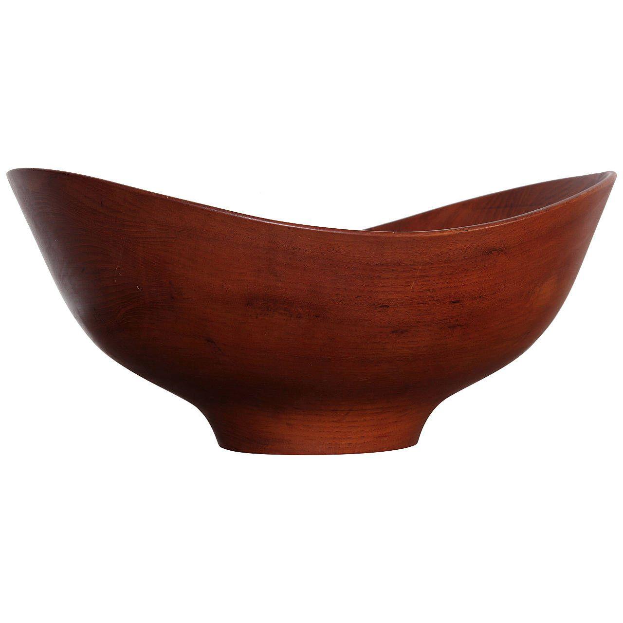 Unique Decorative Bowls Large Teak Bowlfinn Juhl  Teak Bowls And Decorative Objects