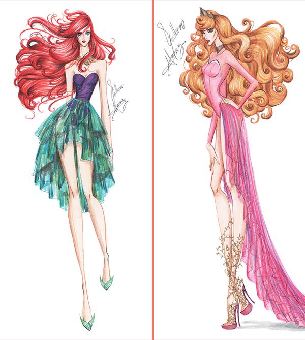 Princesas da disney modernas