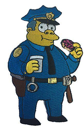 Simpsons Polizist