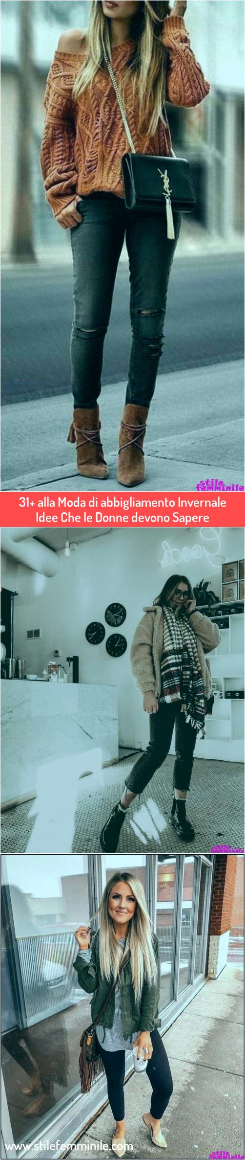 Photo of 31+ alla Moda di abbigliamento Invernale Idee Che le Donne devono Sapere