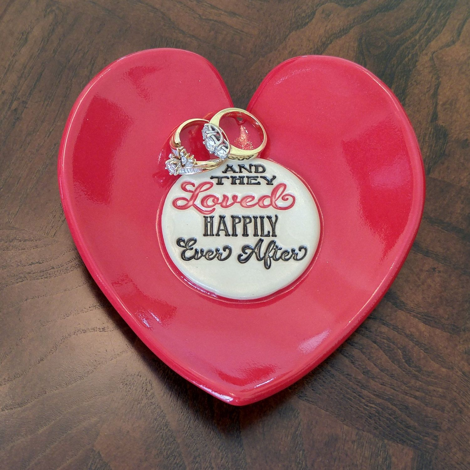 www.LisaDPottery.com Wedding - Ceramic Dish - Heart Dish - Gift for ...