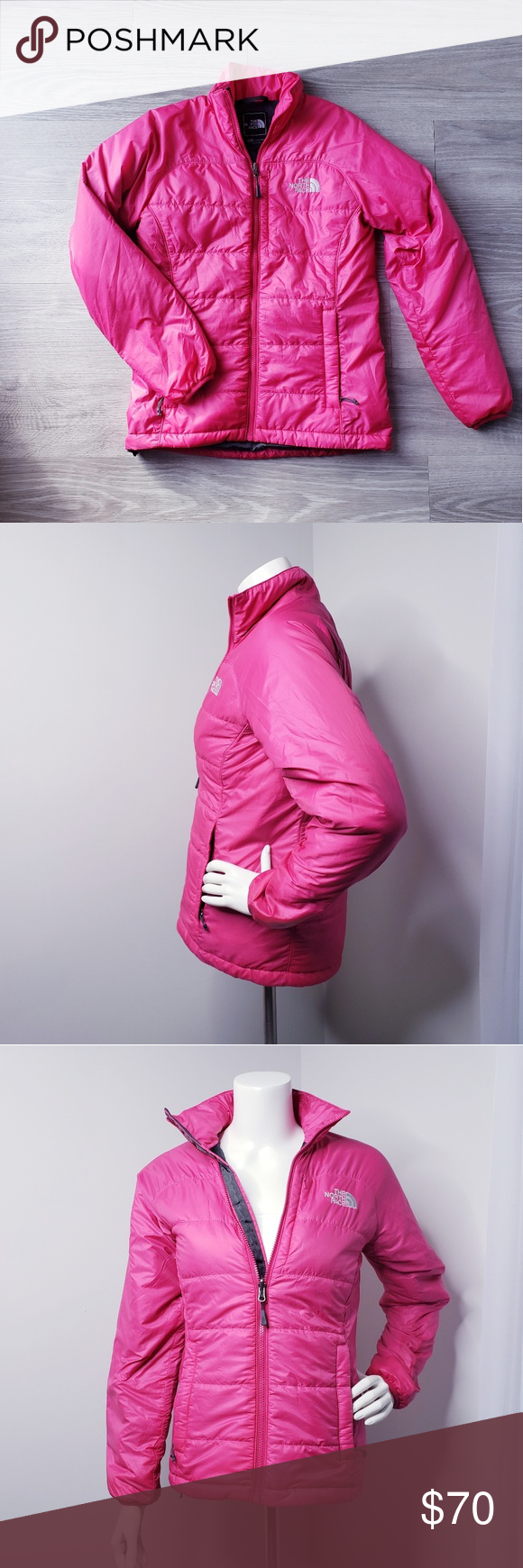 The North Face Hot Pink Puffer Jacket Jackets North Face Jacket The North Face [ 1740 x 580 Pixel ]