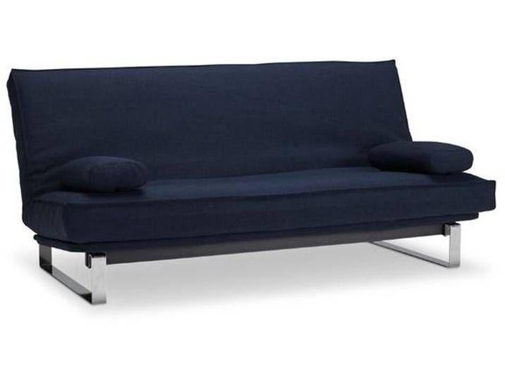 Innovation Schlafsofa Minimum Dunkelblau Stoff Furniture Home