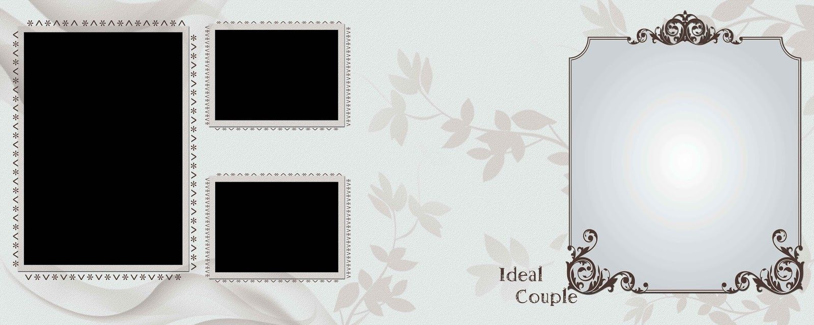 Free Download Wedding Album Psd Templates 12x36 Collection With
