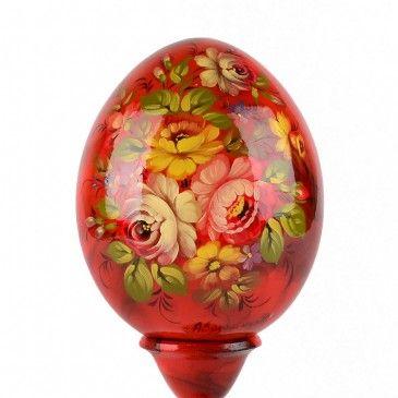 Цветочные Деревянный Яйцо
