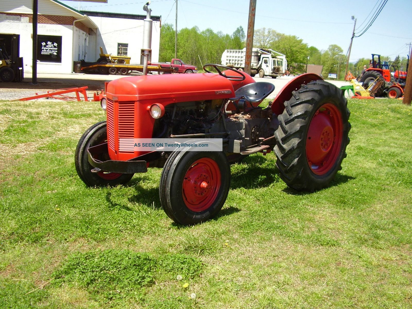 Massey Ferguson To30 2wd Gas Tractor Tractors Photo With