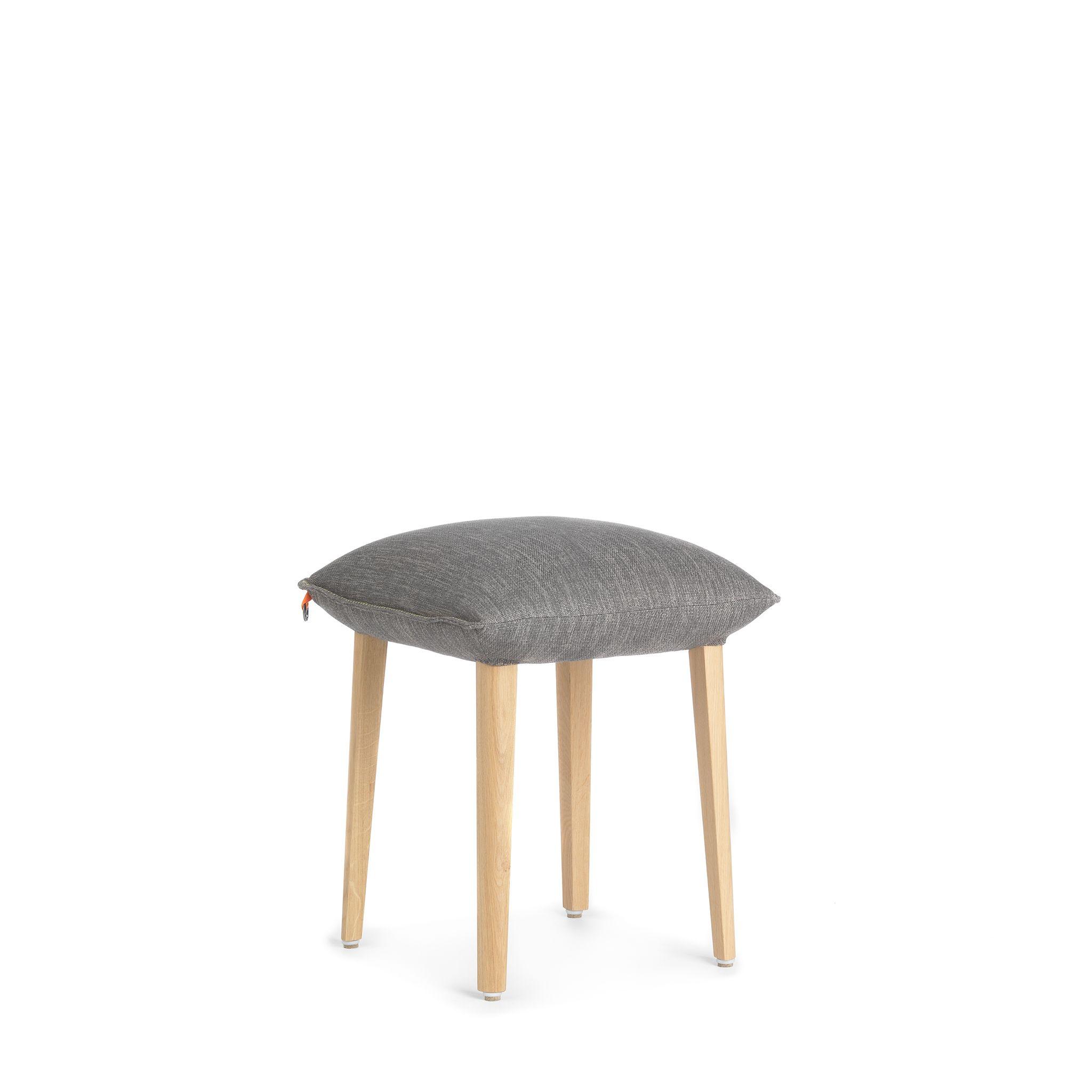 Fabric stool SOFT STOOL UNI H47 -A Soft