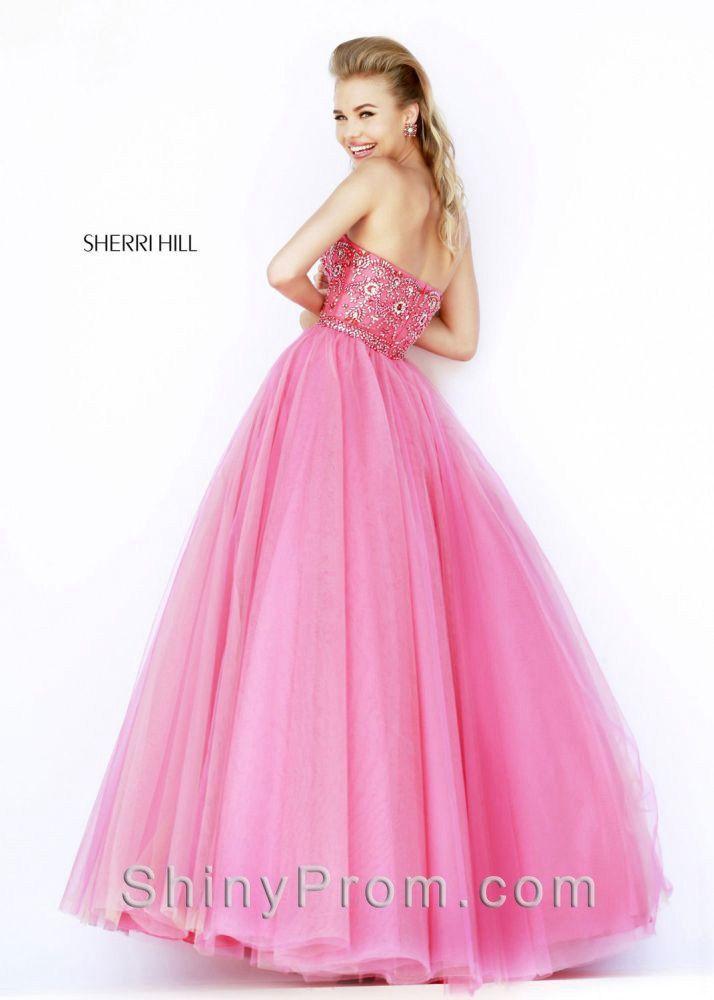 Sherri Hill 32173 Pink Dress