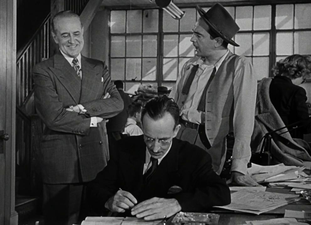 Boomerang! (1947) Film Noir,  Elia Kazan, Taylor Holmes,Sam Levene.