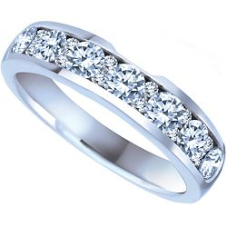 Ben Moss Jewellers 100 Carat TW 14k White Gold Diamond Wedding