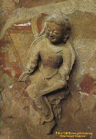炳靈寺石窟雕像