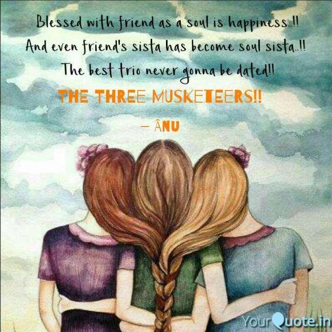 10+ Trio Friendship Quotes - Friendship Quote ...