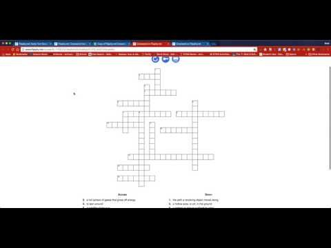 Time to Talk Tech: Want to create an easy crossword puzzle? Try Flipp...