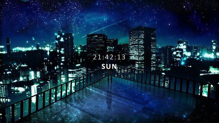 City Skyline Anime City Anime Scenery Wallpaper Anime Scenery