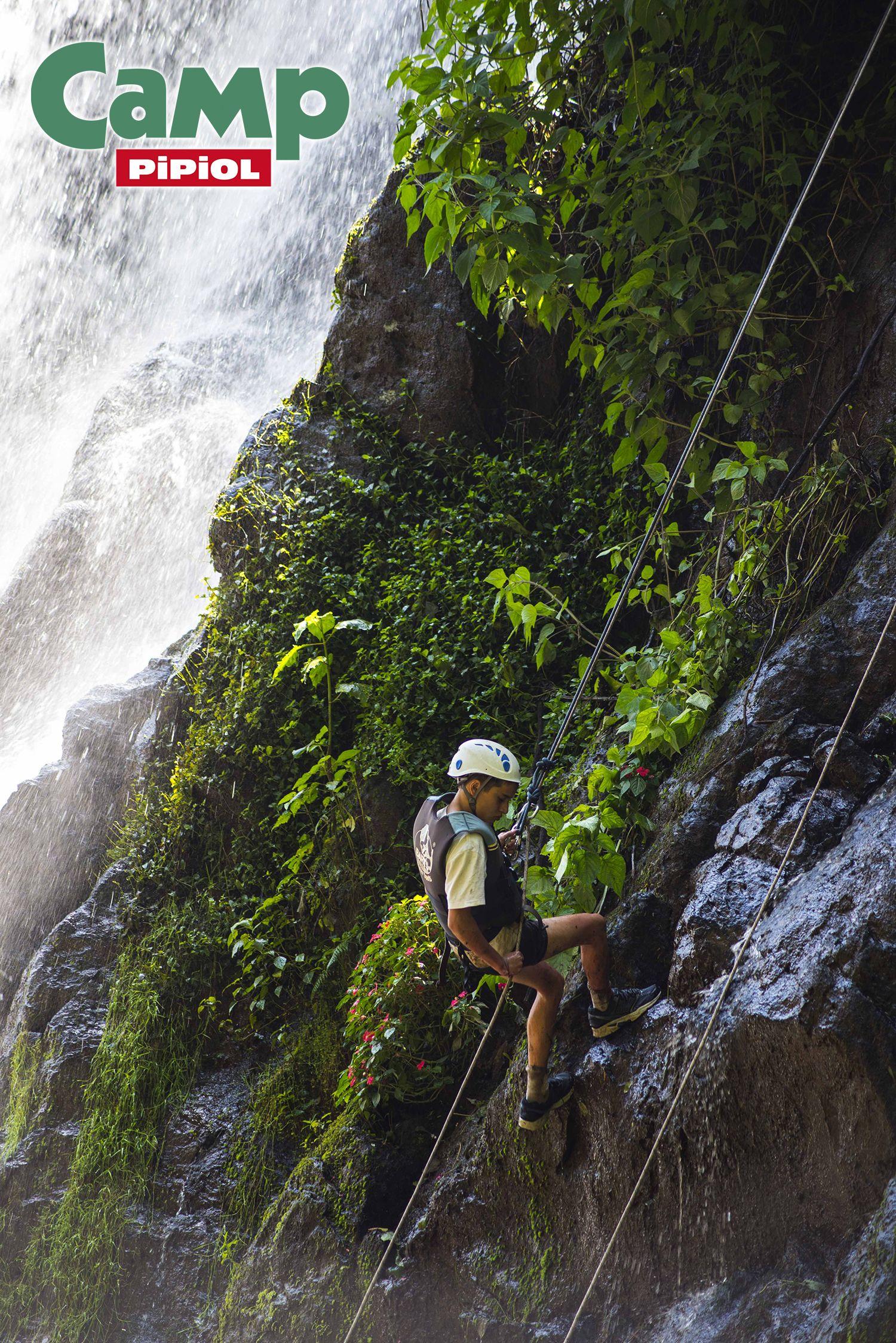 Rappel en la Cascada Velo de Novia. Valle de Bravo. #CampPipiol2015
